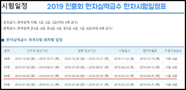 2019-진흥회-한자실력급수-한자시험-일정표.png